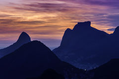 Aerial view of Rio De Janeiro Royalty Free Stock Photo
