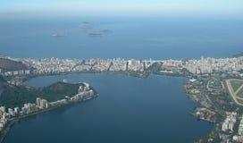 Aerial view of Rio de Janeiro, Brazil Stock Photos