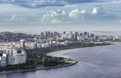 Aerial view of Rio de Janeiro in Brazil Royalty Free Stock Photos