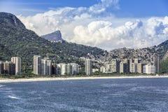 Aerial view of Rio de Janeiro stock photography