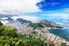 Aerial view of Rio de Janeiro city, Brazil Stock Photo