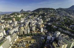 Aerial view of Rio de Janeiro Royalty Free Stock Photography