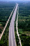 Aerial view of roads Royalty Free Stock Photography