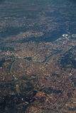 Aerial view of Rome, Italy Stock Photo