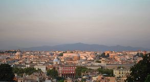 Aerial view of Rome, Italy Stock Photography