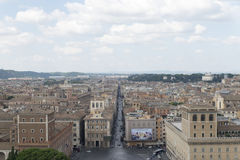 Aerial view of Rome Stock Photos