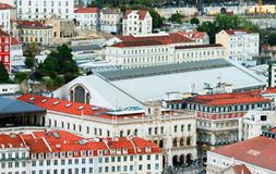 Rossio Train Station. Stock Images