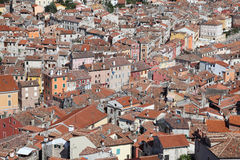 Aerial view of Rovinj, Croatia Stock Photo