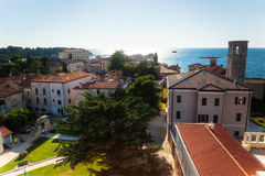 Aerial view of Rovinj, Croatia Royalty Free Stock Image