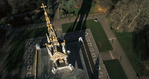 Aerial view of the Royal Albert Memorial in London Royalty Free Stock Photography