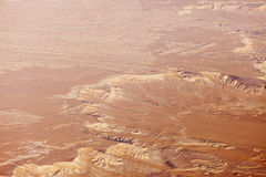 Aerial view of sahara Stock Photos