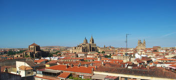 Aerial view of Salamanca Royalty Free Stock Photo