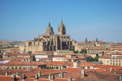 Aerial view of Salamanca Stock Image