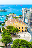 Aerial view of Salvador City in Bahia, Brazil Stock Image