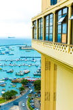 Aerial view of Salvador City in Bahia, Brazil Royalty Free Stock Photos