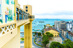 Aerial view of Salvador City in Bahia, Brazil Royalty Free Stock Image