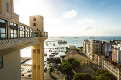 Aerial view of Salvador City in Bahia, Brazil Stock Photo