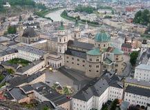 Aerial view of Salzburg, Austria Stock Photo