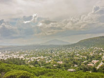 Aerial View from San Antonio Hill Royalty Free Stock Images