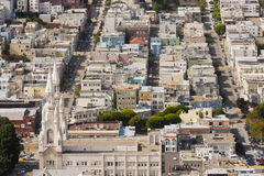Aerial View San Francisco Stock Photo
