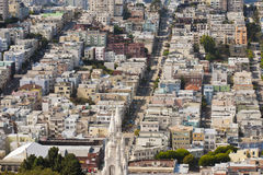 Aerial View San Francisco Royalty Free Stock Images
