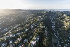 Los Angeles Hollywood Hills South Beverly Park Stock Photos