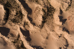 Aerial view of sand dunes - South Africa Royalty Free Stock Images