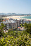 Aerial view of Santander Royalty Free Stock Photos