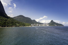 Aerial view of  Sao Conrado Stock Photos