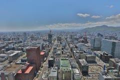 The Aerial view in  SAPPORO, HOKKAIDO jp Royalty Free Stock Photos