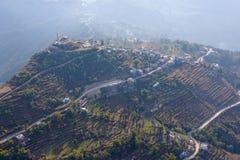Aerial view of Sarangkot Stock Image