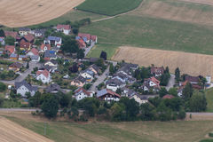 Aerial view of Schwandorf Royalty Free Stock Image