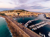Aerial View Of Sete, France Royalty Free Stock Photography