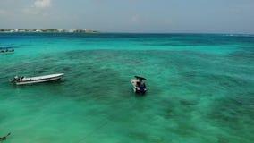 Aerial Caribbean Sea View - seven colours sea 5