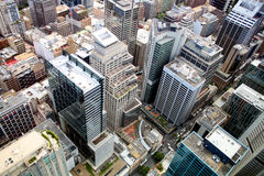 Aerial view of Sidney Royalty Free Stock Images