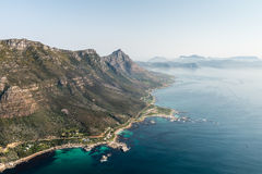 Aerial view of Simonstown & x28;South Africa& x29; Stock Photography