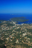 Aerial view on Sivota Greece Stock Photo