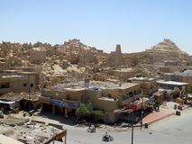 Aerial view of Siwa, Egypt Stock Images