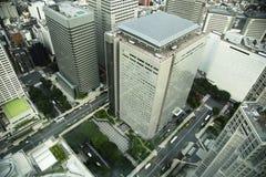 Aerial view of skycraper in Tokyo, Japan Stock Image