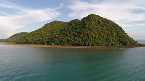 Aerial view of small island near Layan beach in Phuket Stock Photography