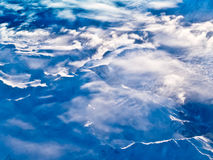Aerial view of snowcapped peaks in BC, Canada Stock Image