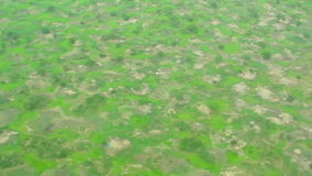 Aerial view of south sudan stock footage