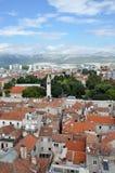 Aerial view of Split, Croatia Stock Photography