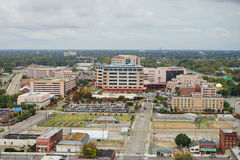 Aerial view of St Jude Children Hospital Royalty Free Stock Photo