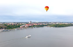 Aerial view of the Stockholm Sweden Royalty Free Stock Image