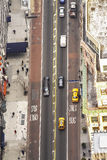 Aerial view of Street in New York City, USA. Aerial view of Street in New York City, USA Stock Photo