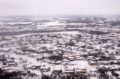 Aerial View of the Suburbs. Yellowknife Stock Images