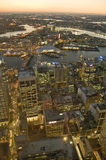 Aerial view of Sydney Royalty Free Stock Image