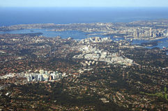 Aerial view of Sydney Australia Stock Photos