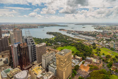 Aerial view of Sydney - Australia Royalty Free Stock Photography